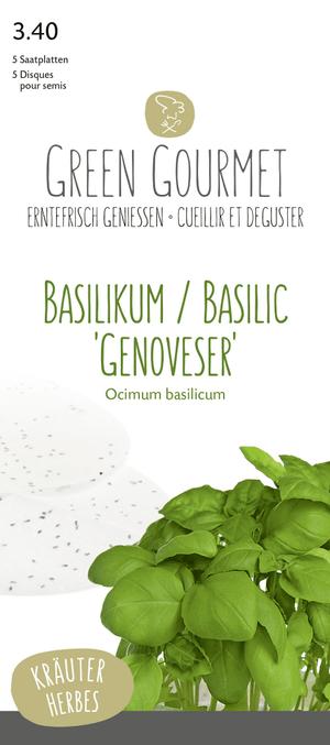 Basilico 'Genoveser' 5 semepiatto