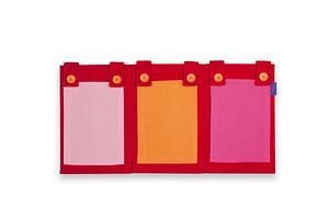 Portagiornale rosa FLEXA