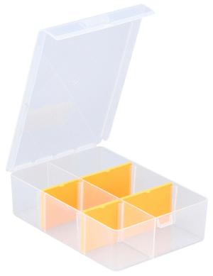 Boîtes d'assortiment, 2-6 compartiments, PP