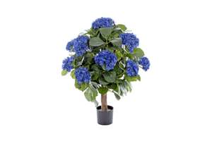 Kunstpflanze Hydrangea blau