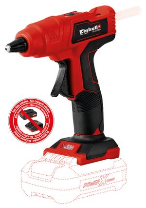 pistola per colla a caldo TE-CG 18 Li-Solo