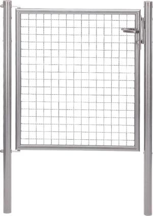 Porte galvanisé
