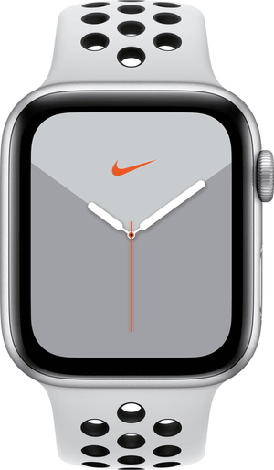 Watch Nike Series 5 GPS 44mm silver Aluminium Pure Platinum Nike Sport Band