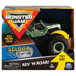 Monster Jam Rev & Roar Trucks 1:43