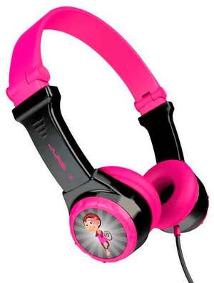 JBuddies Folding Kids Headphones - pink