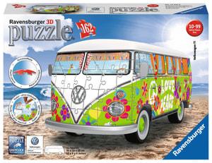 Puzzle VW T1 Hippie Edition 3D