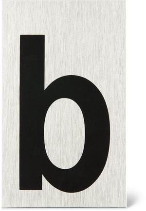 Türschild Buchstabe b