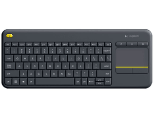 K400 Plus Wireless Tastatur mit Touchpad
