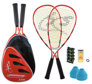 SPEEDMINTON SET S100 PLUS