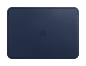 Leather Sleeve 13'' midnight blue
