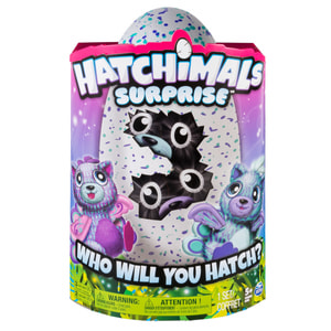 Hatchimal Surprise Twins purple