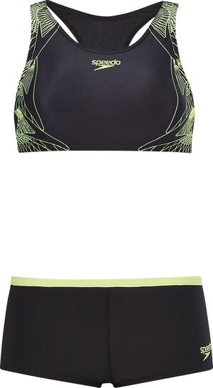 badc12fb81 Bikini sportive pour femme. 69.90 · Speedo. Boom Placement Crop Top 2 Piece