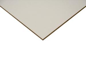 Pannello MDF Lack Line bianco laccato su un lato