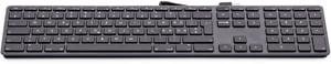 USB numerische Tastatur KB-1243-SG space grau CH-Layout