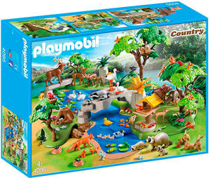 PLAYMOBIL 4095 80 Tiere am See