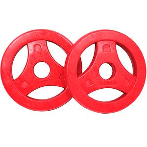 Aerobic Disc da 1,25 kg coppia rosso