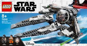 LEGO Star Wars 75242 Black Ace TIE Interc