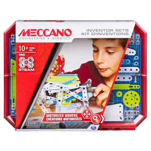 Meccano Inventor Motorized Movers