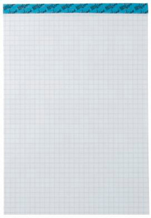 Bloc-notes blanc A4 543190 4mm carreaux, 65g 100 feuilles