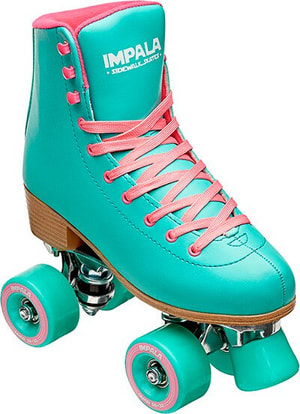 Quad Skate Aqua