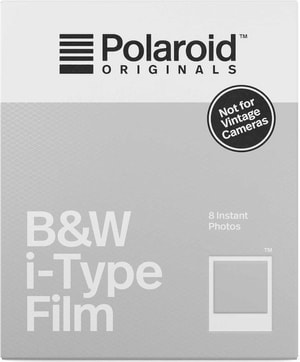 Polaroid Originals Film i-Type B&W 8 Pho