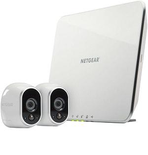 Système de sécurité avec 2 caméras HD