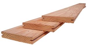 Lame de terrasse en bois douglas 1 pcs. 143 x 2000 mm