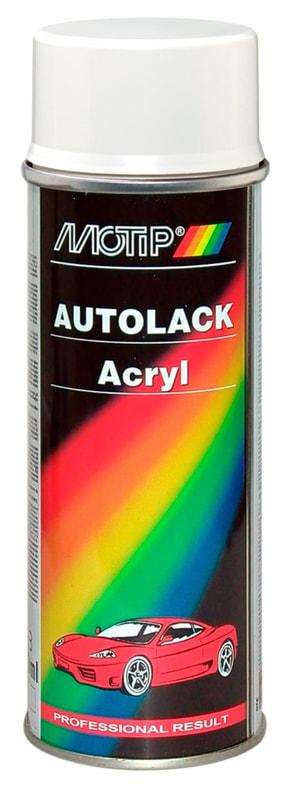 Acryl-Autolack weiss-grau 400 ml