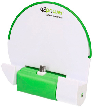 Q2Power Dock & Charge Euro Micro USB with Battery