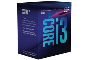 CPU Core i3-8300 3.7 GHz