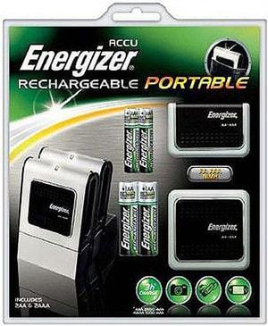 Energizer Portable Charger inkl. 4 Akk