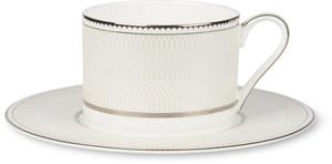 NOBLESSE Kaffeetasse mit Unterteller