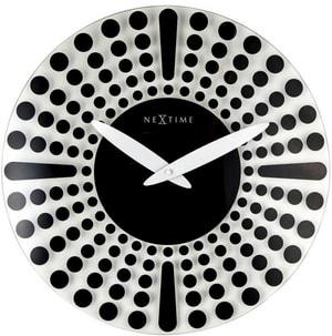 Horloge murale Dreamtime Black diam