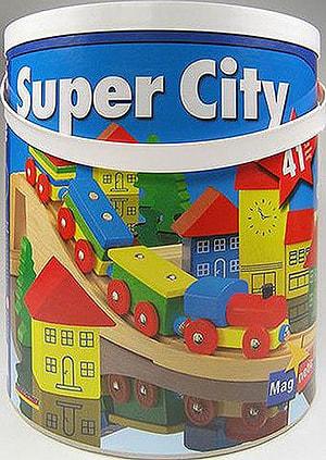 10/11 SUPER CITY 8 HOLZBAHN IN TROMMEL