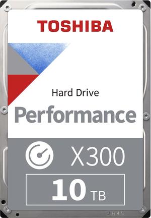"X300 High Performance  10TB 3.5"" SATA"