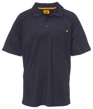 Polo Shirt Raglan Performance Pocket
