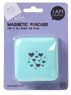 Puncher Magnétique, petits coeurs