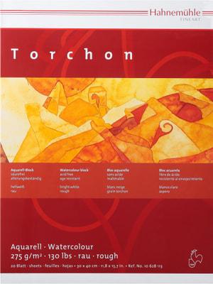 Hahnemühle Torchon Bloc aquarelle 30x40