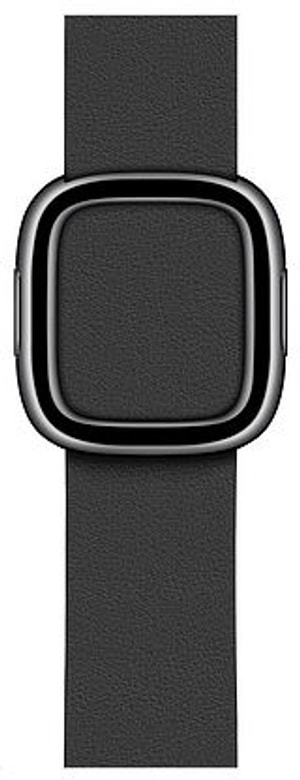 Bracelet Boucle moderne noir 40 mm - Medium