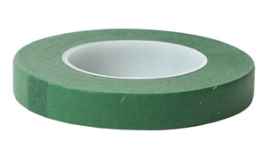 FLOWER TAPE VERDE, 13MM X 27.30M