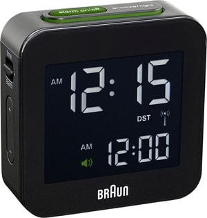BNC008BK-RC réveil LCD télécommandé noir