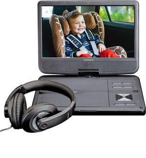Lenco DVP-1010BK Portabler DVD Player