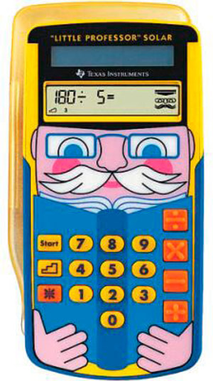 Calculatrice scolaire Solar TI-LITTLE