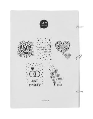 Stencil Book 5 Schablonen