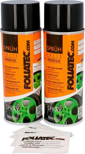 Film spray vert brillant 400ml 2pc