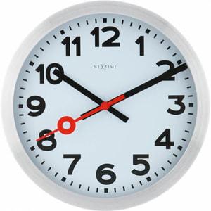 Horloge murale brossée 34.8cm