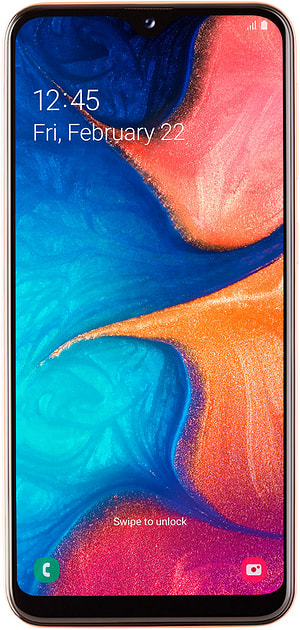 Galaxy A20e Coral
