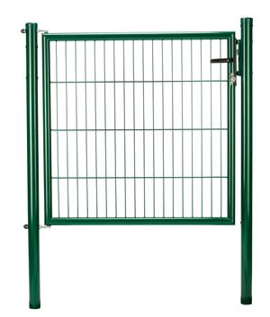 Porte panneau simple fil vert