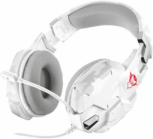 GXT 322W Gaming Headset - blanche camouflage