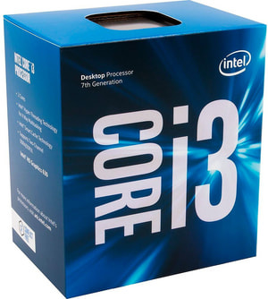 CPU Core i3-7100 3.9 GHz